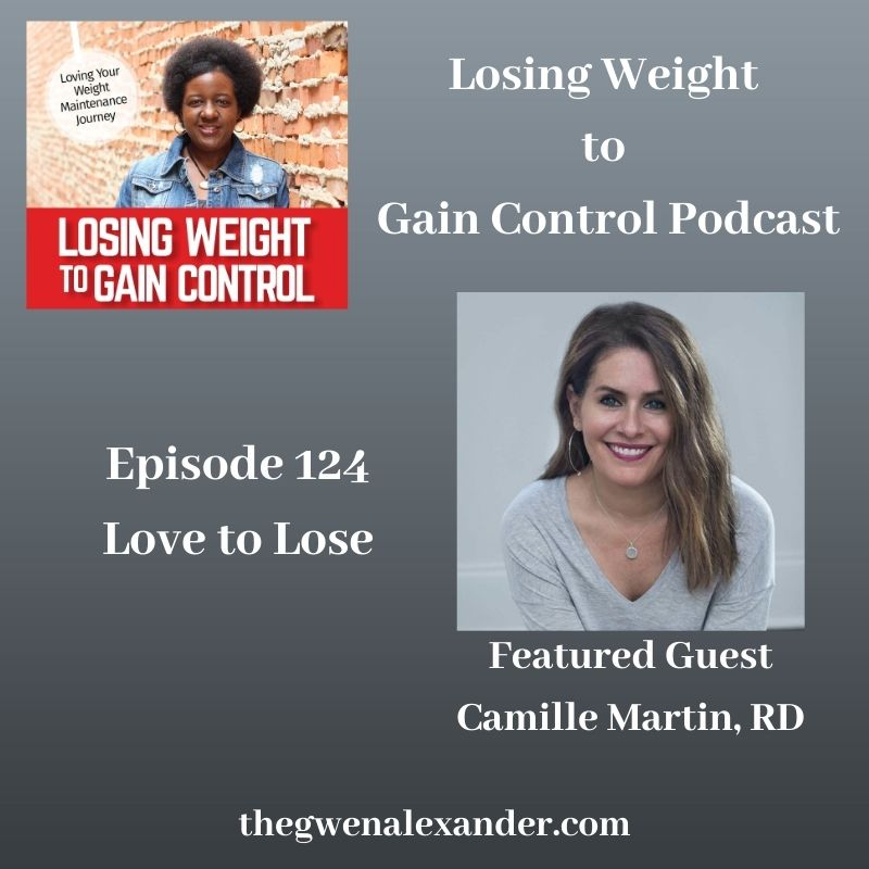 Losing Weight to Gain Control card